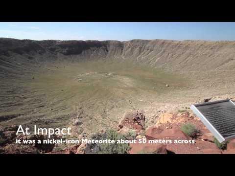 Tomasland Travels: Episode 1 -  Barringer Meteorite Crater -Meteor Crater - In 1080p HD