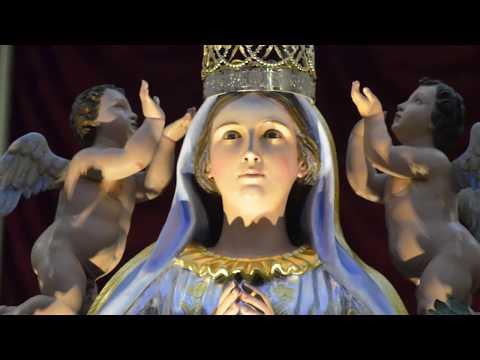 Apricena (Fg) - Maria SS. Incoronata - Processione verso la Chiesa Madre 2018