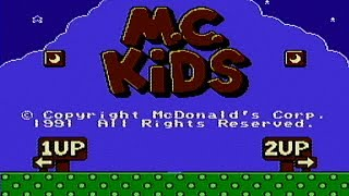 M.C. Kids - NES Gameplay