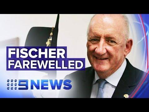 Australia Says Final Goodbye To Former Deputy PM Tim Fischer | Nine News Australia