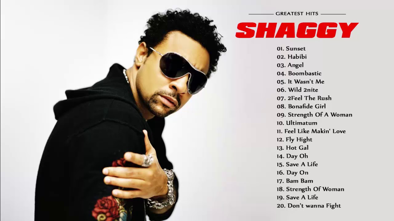 Shaggy Best Songs - Shaggy Grestest Hits