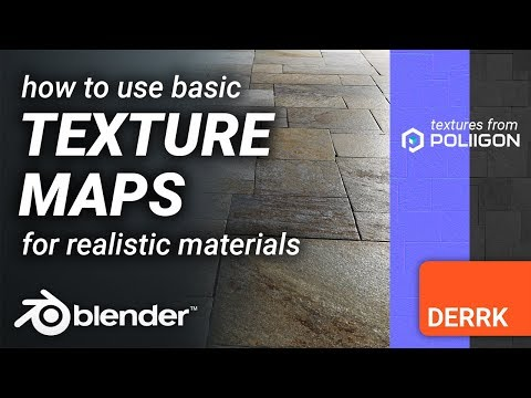 Texture Maps In Blender: How To