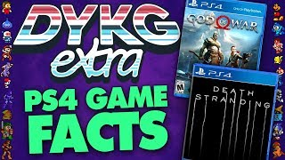 PS4 Games Facts - Did You Know Gaming? extra Feat. Greg (PlayStation 4)