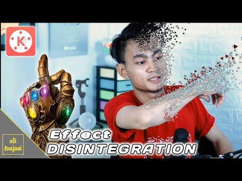 Cara EDIT disintegration effect (effect melebur) di KINEMASTER