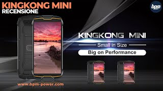KingKong HP MINI 2 Tahan Banting Tahan Air Face ID 3GB  32GB 4G