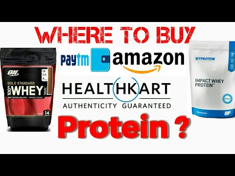 (hindi) where to buy genuine protein /authentic