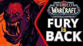 FURY IS BACK ● УРОН НА 6% ● WoW Battle for Azeroth