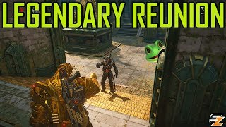 LEGENDARY REUNION! - Gears of War 4 Gameplay w/ LANDAN2006!