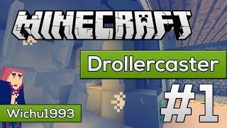 Minecraft DrollercasterWorld #1 - Budujemy Reaktor dla miasta