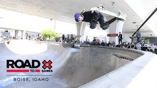 Sabre Norris wins Women's Skate Park | Road To X Games Boise 2018