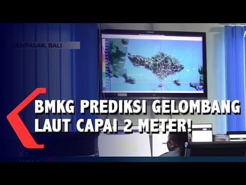 BMKG Prediksi Gelombang Tinggi Capai 2 Meter