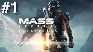 Mass Effect Andromeda Gameplay Walkthrough Part 1 Character Creation Skill Tree No Commentary PC PS4
