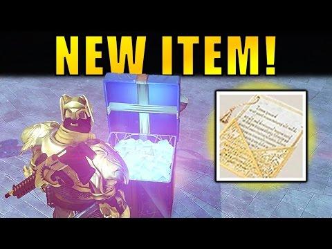 Destiny: NEW ITEM! Paper Fortune   Destiny 2 Hints?