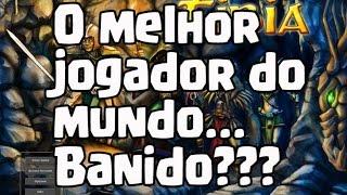 Clash of Clans - O MELHOR JOGADOR DO CLASH OF CLANS BANIDO!?