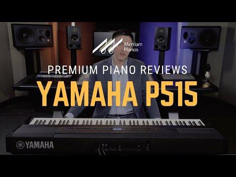 🎹Yamaha P515 Digital Piano Review & Demo - 88-Key, Portable, Piano Room🎹