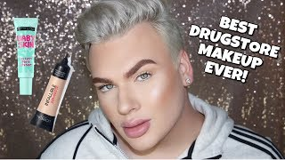 FULL FACE USING THE BEST DRUGSTORE MAKEUP!
