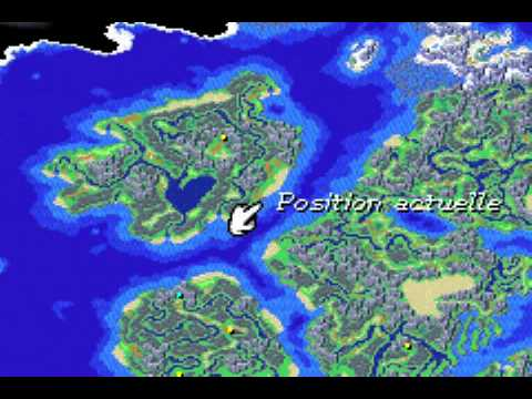 Golden Sun 2 World Map.Golden Sun L Age Perdu Soluce 114 Vers La Colonie D Hesperia