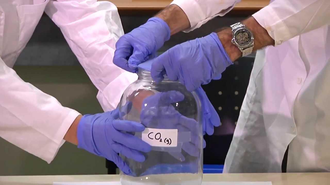 CO2 + NaOH Carbon dioxide and Sodium hydroxide פחמן דו חמצני בסביבה בסיסית