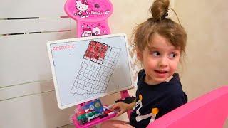 Juegos con chocolate  Historia divertida para niños