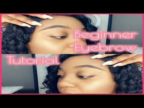 Beginner Eyebrow Tutorial | Perfect For Uneven Arches