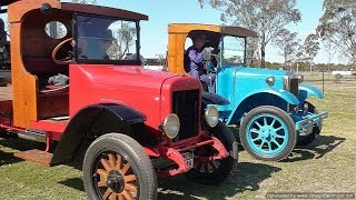 Old Trucks at Jondaryan Woolshed