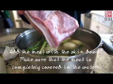 Boiled Pork Belly Recipe