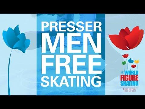 Men Free Skating Press Conference