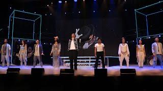 """Vorstellung des Darsteller: Generalprobe des Michael-Jackson-Musicals """"Beat It"""" in Deggendorf"""