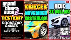 🙌Alle Neuen Inhalte!🙌 GTA 6 Testen!? KRIEGER Kostenlos! 3X $ + Mehr! [GTA 5 Online Casino Update]