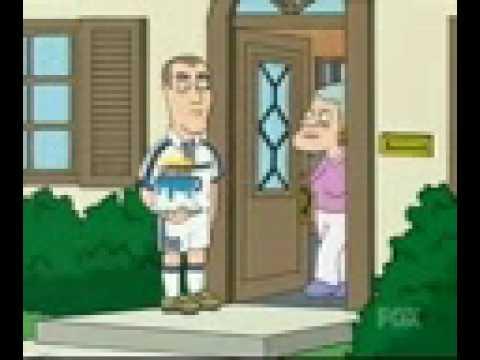Zinedine zidane headbutt family guy
