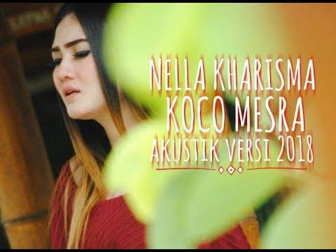 Konco Mesra - Nella Kharisma Akustik Version 2018 ( Lirik Lagu )