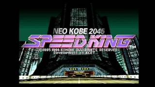[VGM] Speed King: Neo Kobe 2045 (PS) - 08 MR.MACHINE -IH MIX- (Beginner Race B - Remix)
