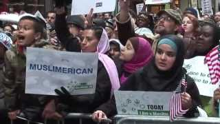 """Today I am a Muslim Too"" Rally in New York City"