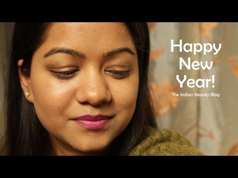 Happy New Year! Post-party makeup tutorial | The Indian ...