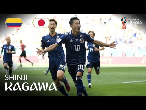 Shinji KAGAWA Goal  - Colombia v Japan - MATCH 16