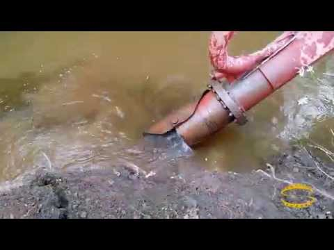 Placer Mining Dredge