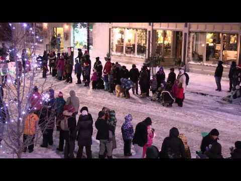 The Collingwood Santa Claus Parade 2013
