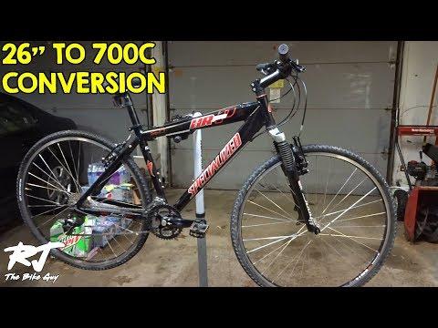 Reverse Single-Speed Bicycle Adapter Umrüstset on Single-Speed Bicycle