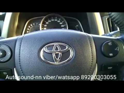 "Штатная магнитола Toyota Rav 4(2013+) 8"" Android 6.0"