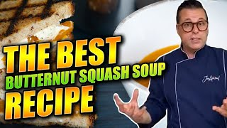 HOW TO COOK BUTTERNUT SQUASH SOUP   How to make butternut squash soup   CHEF JON ASHTON