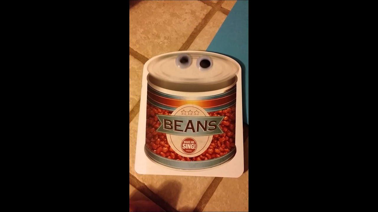 Beans Beans Birthday Card YouTube – Bean Birthday Card