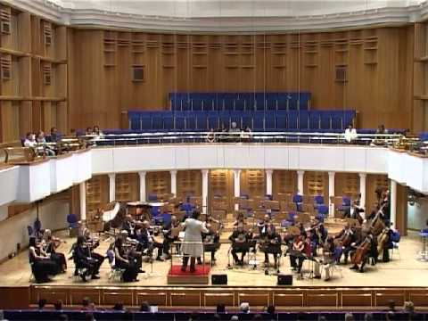 Nikita Koshkin. Concertino for 5 guitars and orchestra - II movement