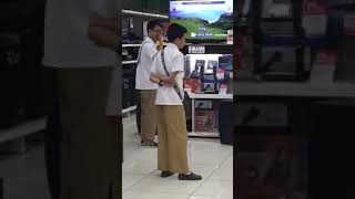 """Wow!! Asian Kid Sings Sam Smith """" Too Good At Goodbyes"""" Karaoke In Store!! Amazing!!!"""