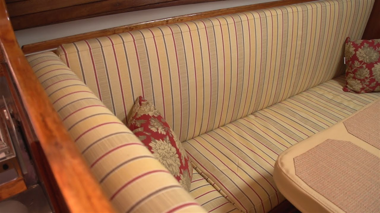 how to make salon cushions for your boat youtube