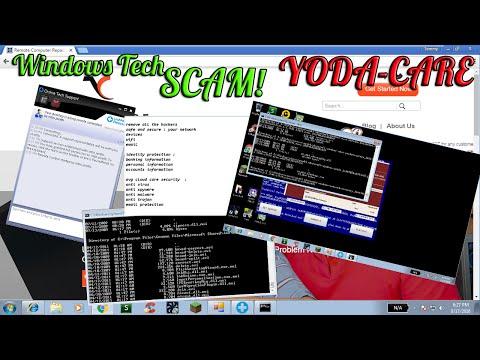 "Windows tech scam u mad bro?  ""yodacare"" | 800-250-5945 | www.yodacare.com"