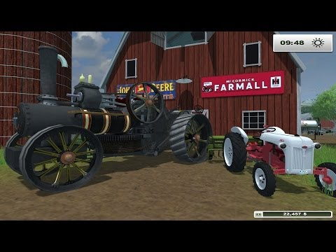 Farm sim Saturday Farming With STEAM POWER
