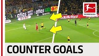 Top 10 Counter-Attack Goals 2018/19 - Reus, Coman, Alcacer & Co.