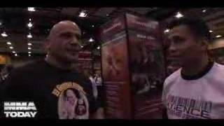 Bas Rutten talks with Cung Le