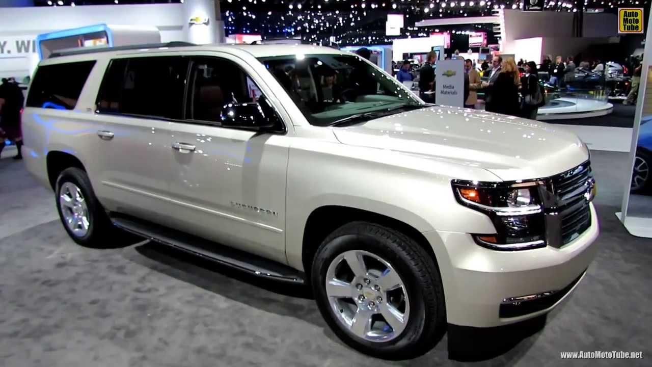 2015 Chevrolet Suburban LTZ - Exterior and Interior ...