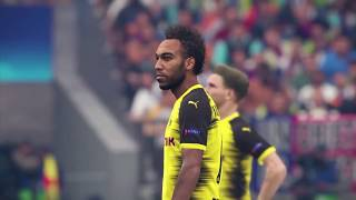 PES 2018 gameplay (on release day): Arcadish with amazing graphics.